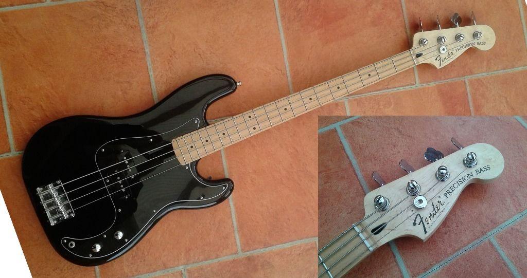 Dúvida sobre originalidade desse Fender Precision Bass  Fender