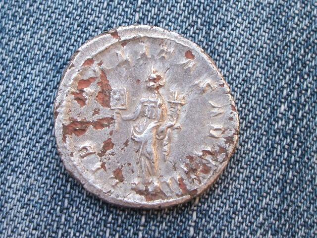 Antoniniano forrado de Filipo I. LIBERALITAS AVGG II. 020