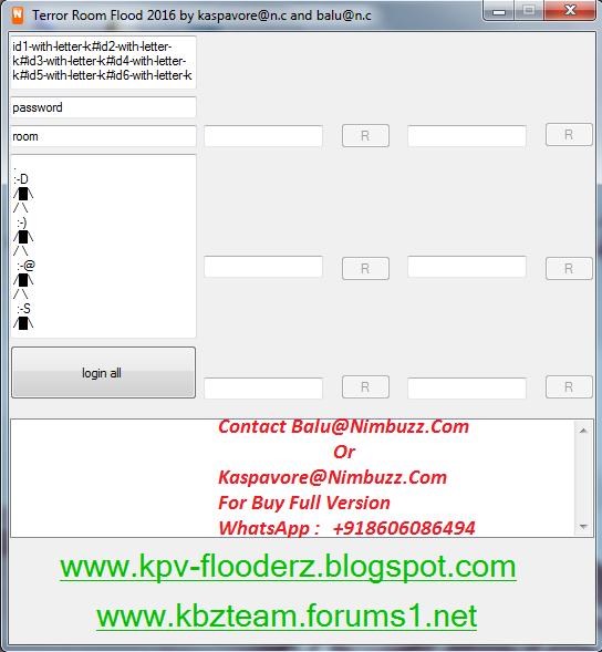 Kbz: TERROR ROOM FLOODER V6 FULL SOURCE CODE IN C# Terror_flood_2