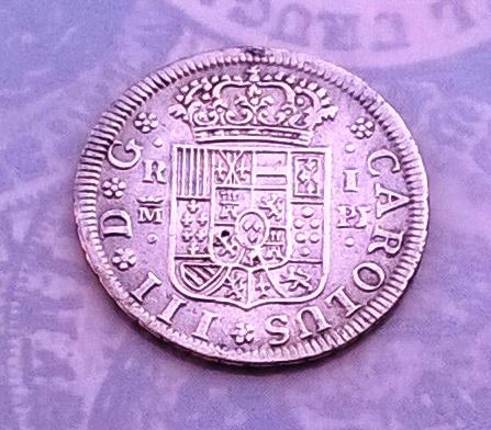 1 real 1765. Carlos III. Madrid WP_20150820_005