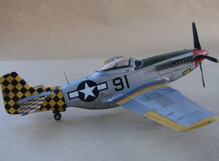 Mustang x2 P-51B Revell & P-51D Tamiya, 1/72 DSC09777