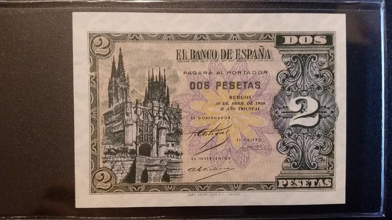 Colección de billetes españoles, sin serie o serie A de Sefcor pendientes de graduar 20161217_123128