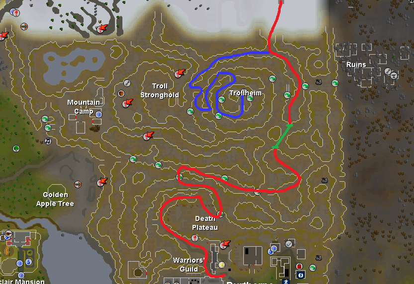 God Wars Guide  Gwd_route2