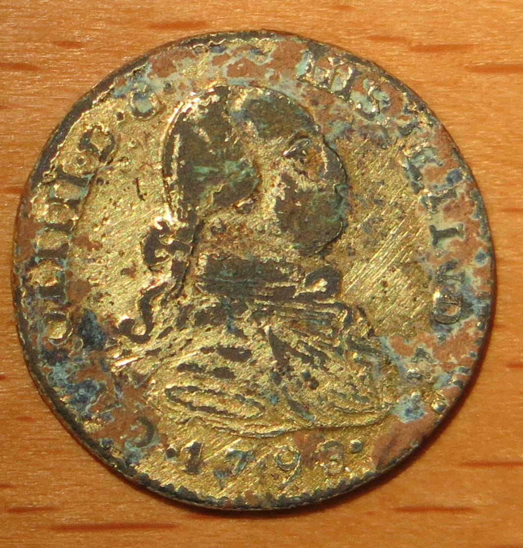 Falso escudo de Oro Carlos IV??? 005