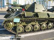 Советский легкий танк Т-70,  Музей битвы за Ленинград, Ленинградская обл. -70_-007