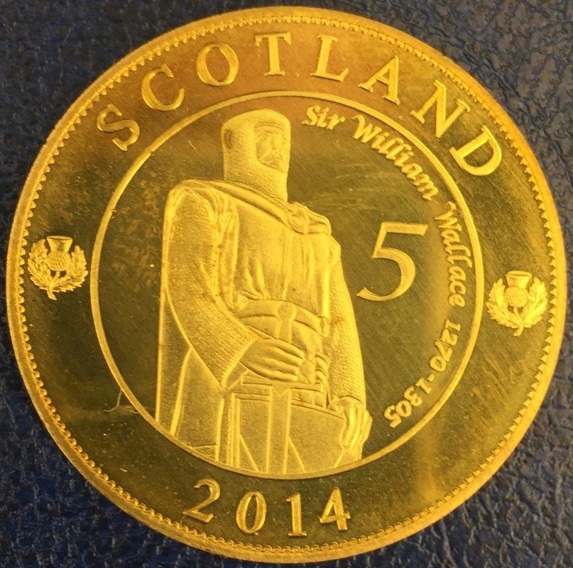 Monedas de lo que pudo ser una Escocia independiente IMG_4390