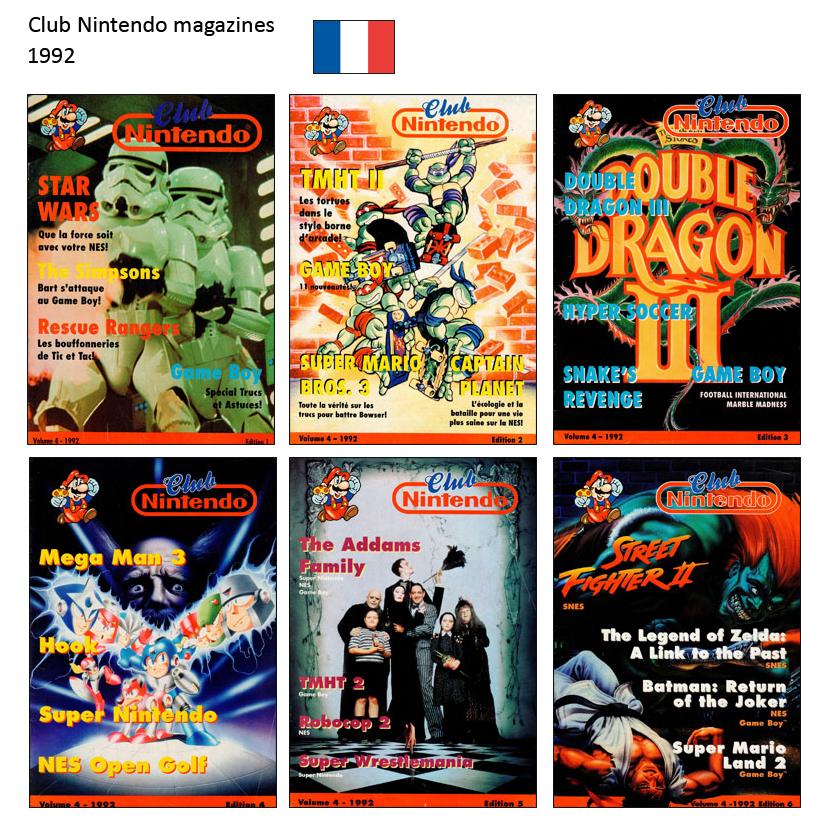 "Magazine ""Club Nintendo"" 1992"