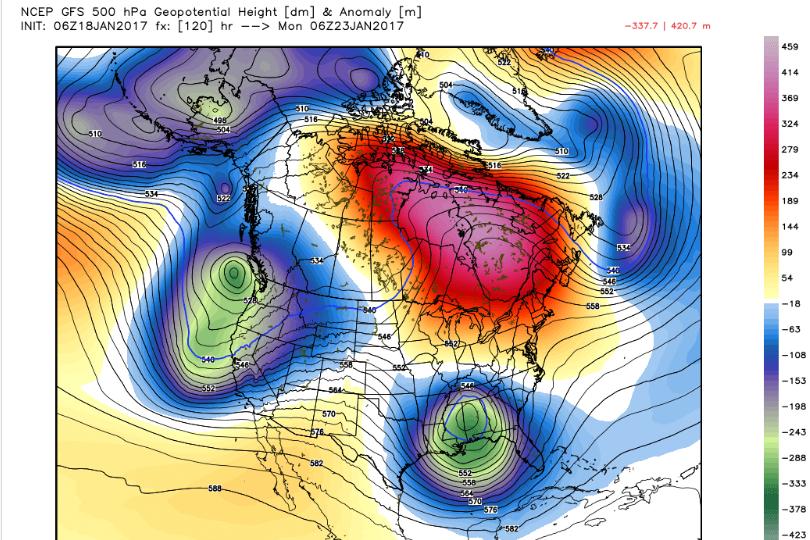 January 22nd-23rd High Impact Storm Gfs_h5