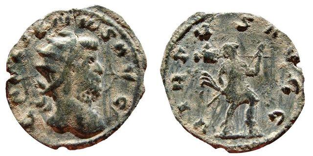 Antoniniano híbrido de Galieno.  0_0_0_galieno
