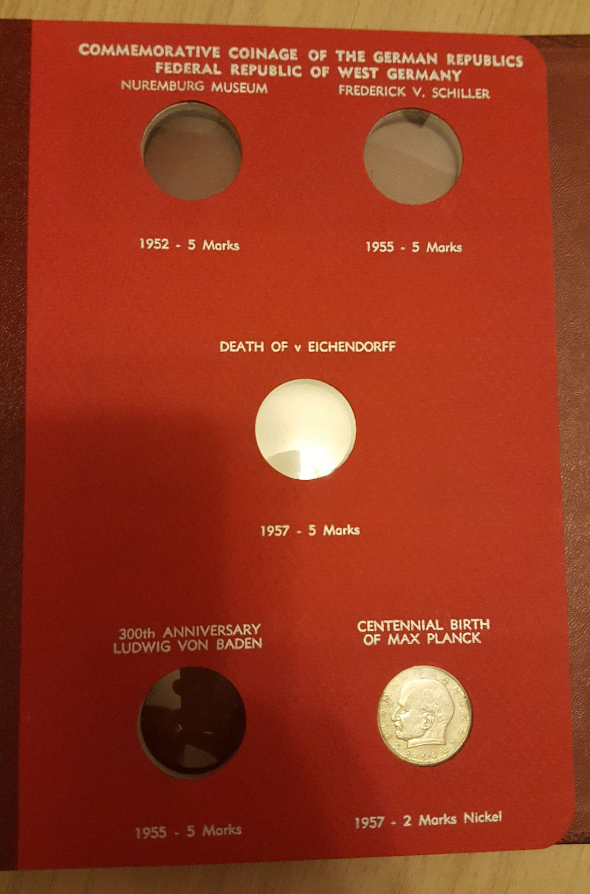 Monedas Conmemorativas de la Republica de Weimar y la Rep. Federal de Alemania 1919-1957 20170406_082745