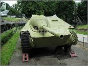 Немецкая 75-мм САУ Hetzer, Музей Войска Польского, г.Варшава, Польша Hetzer_Warszawa_001