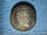 5 Marcos 1888 imperio Aleman (Preussen ) Image