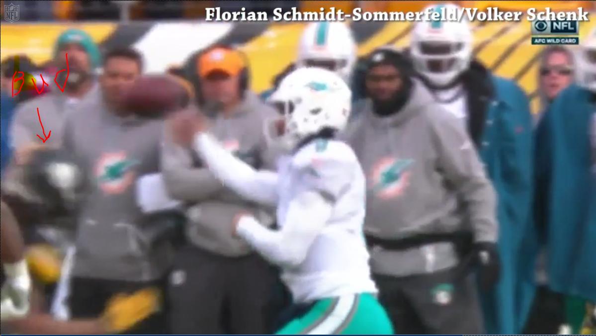 Steelers WR Eli Rogers Fined $24,309 for Blindside Block Against Dolphins Image