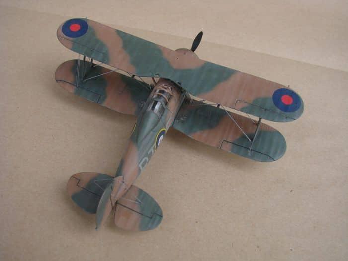 Gloster Gladiator Mk.I, Matchbox/Revell, 1/72 DSC03051