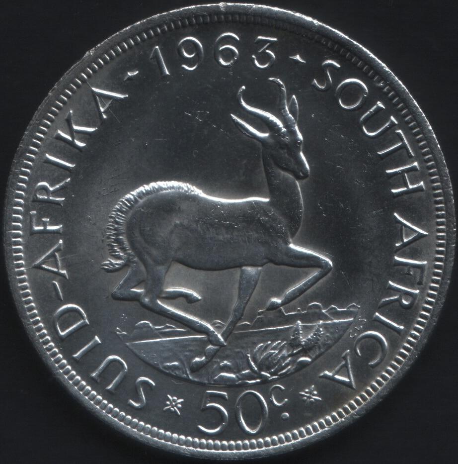 50 centavos sudafrica 2 1963