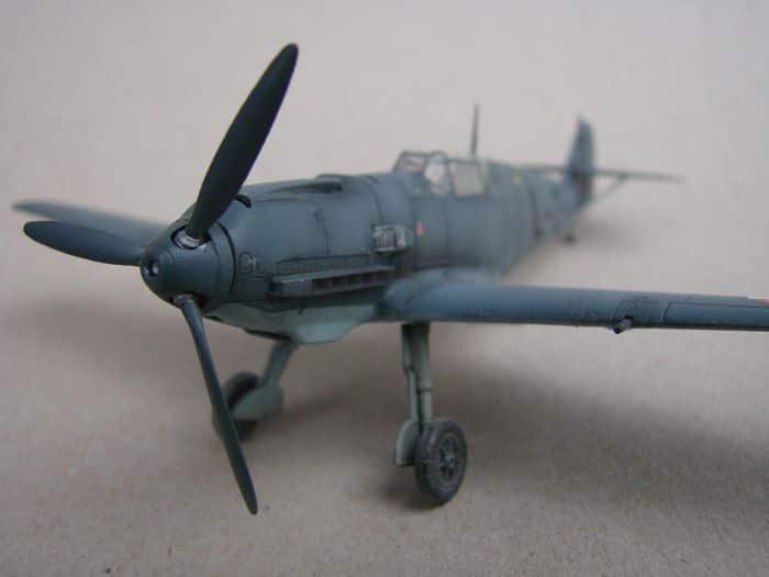 Bf-109E-3VVKJ, Tamiya, 1/72 DSC03071