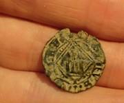 Blanca del ordenamiento de Segovia 1471 Enrique IV de Castilla 1454-1474 Toledo. IMG_20170307_204133