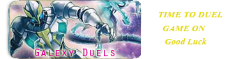 Galaxy duel