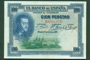 100 Pesetas 1925 (Tres sellos secos:Arriba España, Burgos y República) 100_1925_felix