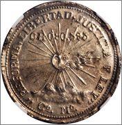 2 pesos 1915 Campo Morado ,Mexico Image