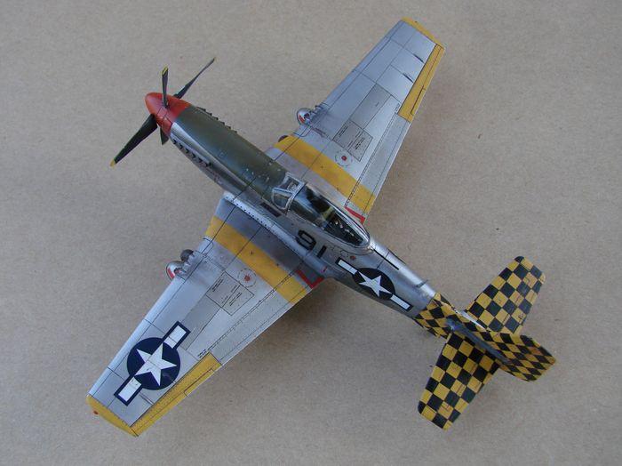 Mustang x2 P-51B Revell & P-51D Tamiya, 1/72 DSC09775