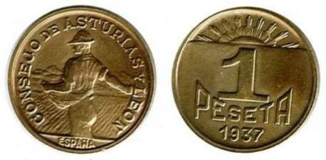 La progesion de la peseta y su decadencia. P_085