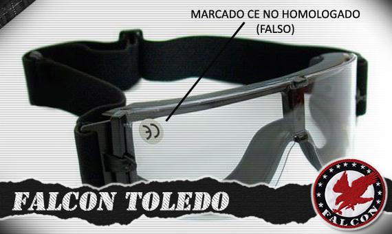 Gafas de Airsoft Homologadas CE_falso