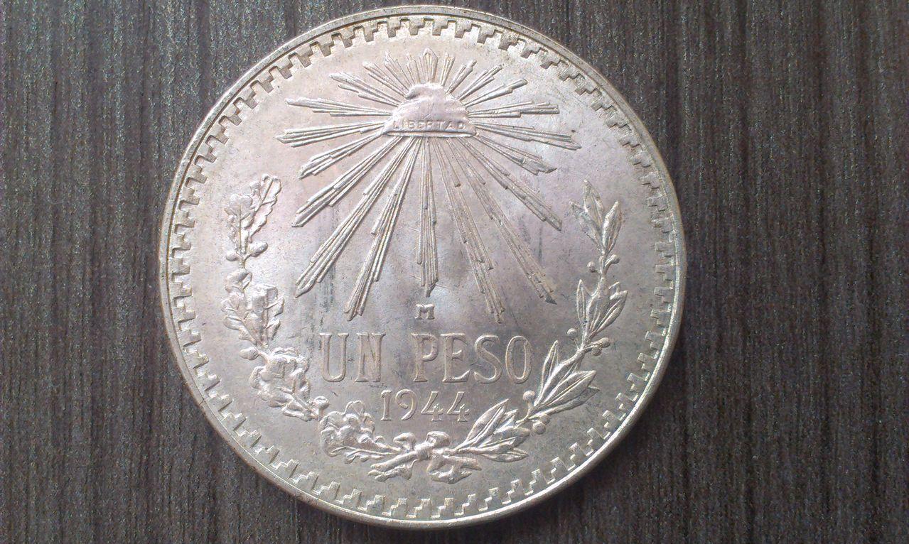 1 Peso. México. 1944 IMAG1493