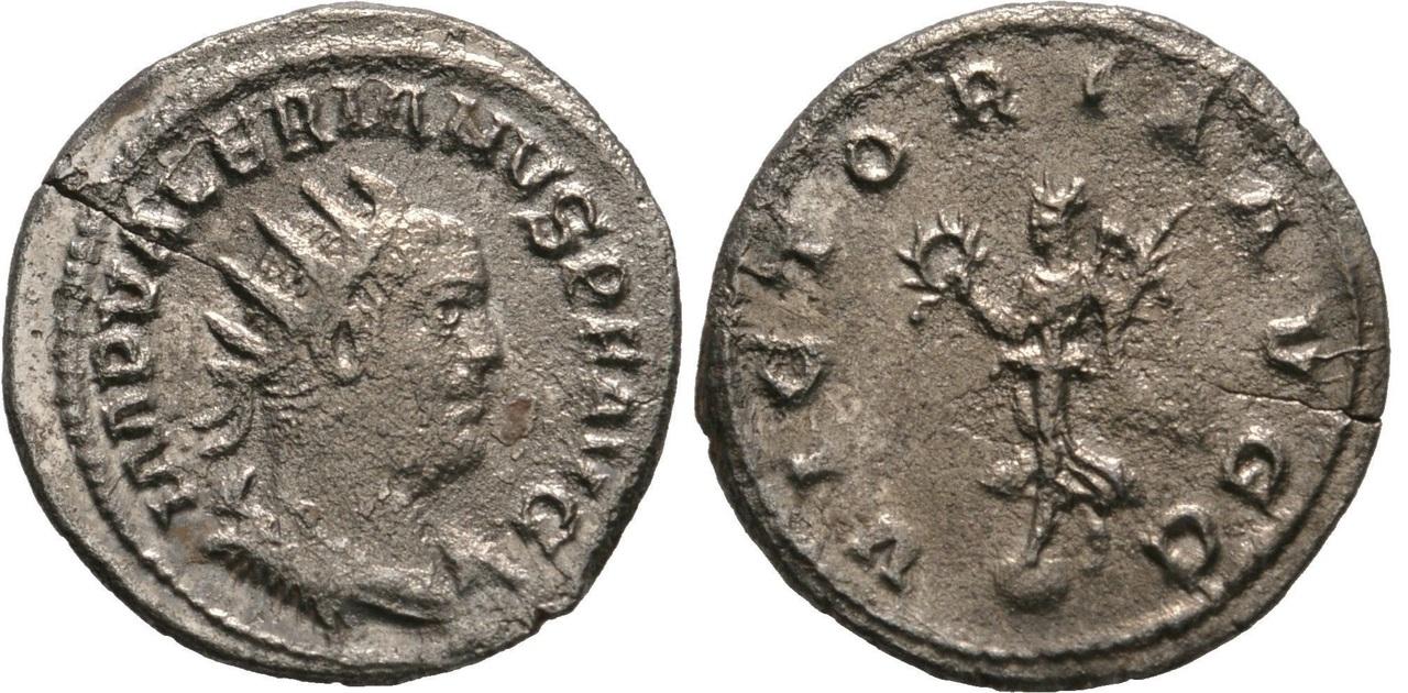 Antoniniano de Valeriano I. VICTORIA AVGG Valeriano_i_RIC_288_-_MIR_1590a