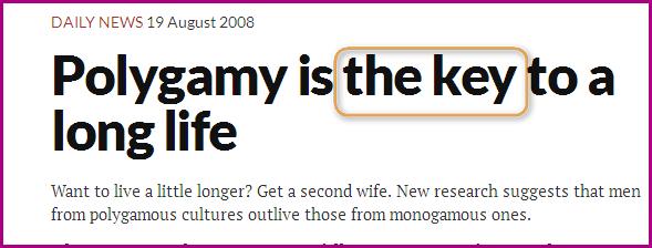 Polygamie est bénéfique par rapport a la monogamie  Image