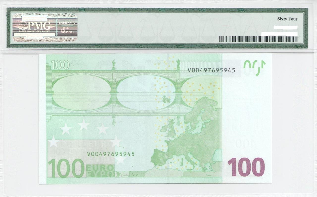 Colección de billetes españoles, sin serie o serie A de Sefcor - Página 3 100_euros_reverso