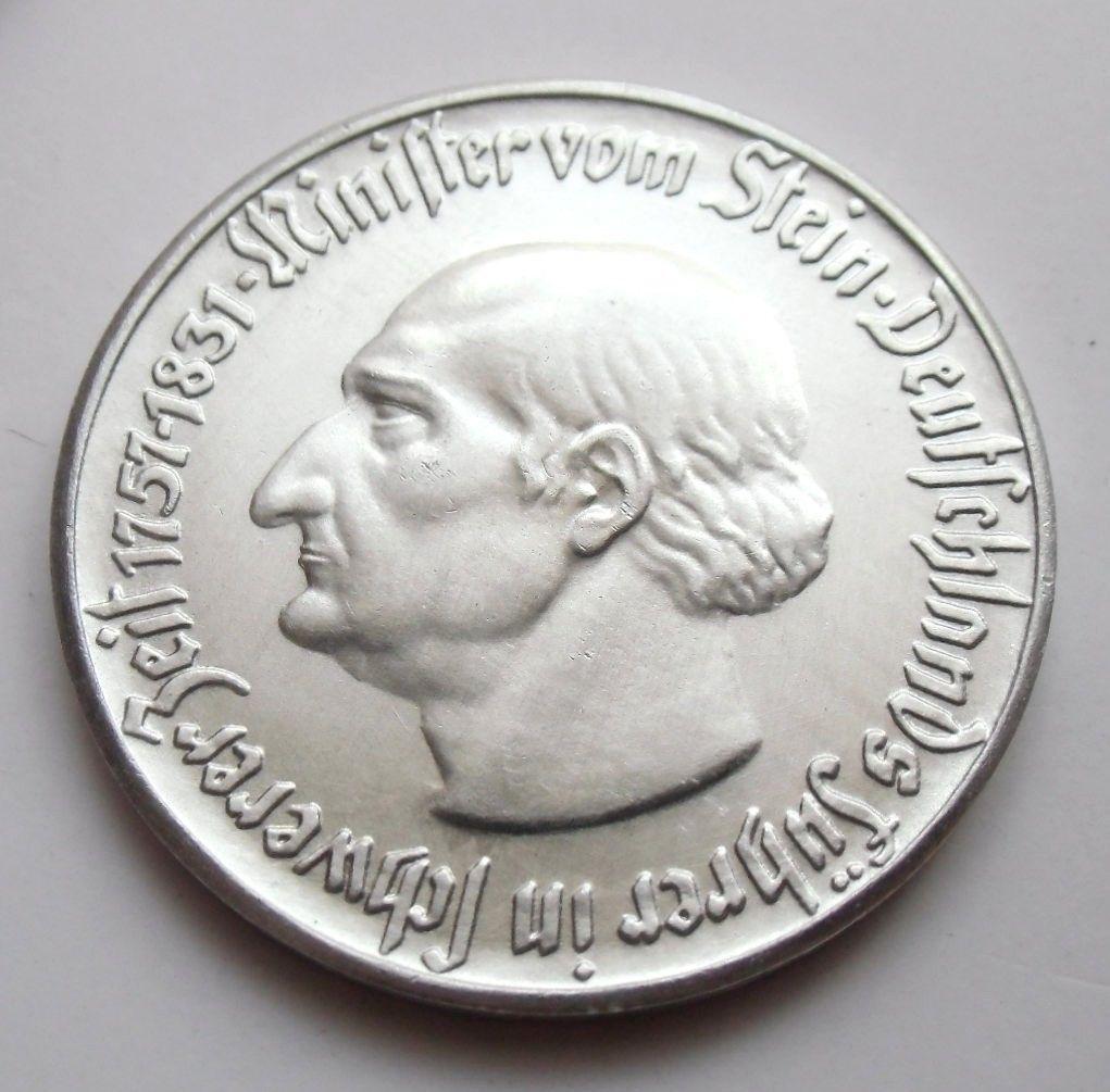 Monedas de emergencia emitidas por el banco regional de Westphalia 1921_5a