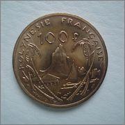 100 francos 1982 Polinesia Francesa  Image