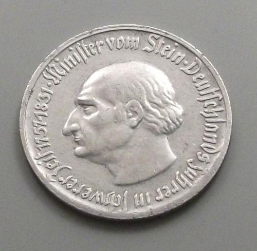 Monedas de emergencia emitidas por el banco regional de Westphalia 1921_050a
