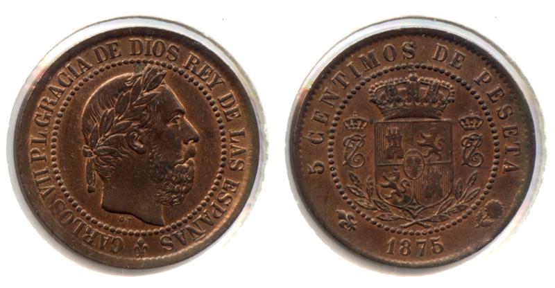 5 Céntimos 1875. Carlos VII. Oñate. SC- - Página 2 5cntimoscarlosvii
