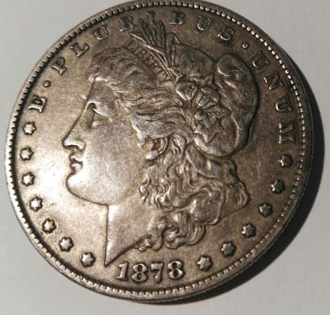 1 Dollar morgan. U.S.A. 1878  2017_01_04_17_53_57