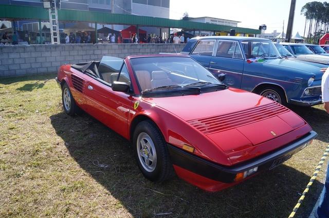 Veteran Car Club a Florianopolis Ferrari