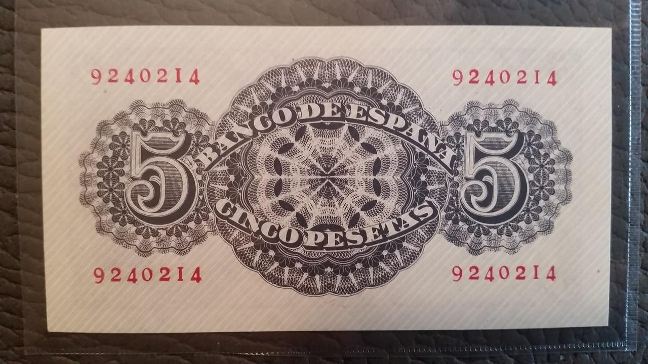 Colección de billetes españoles, sin serie o serie A de Sefcor pendientes de graduar 20161217_114546