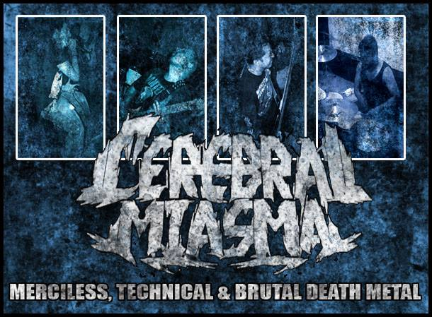 CEREBRAL MIASMA Technical Death Metal A_ver