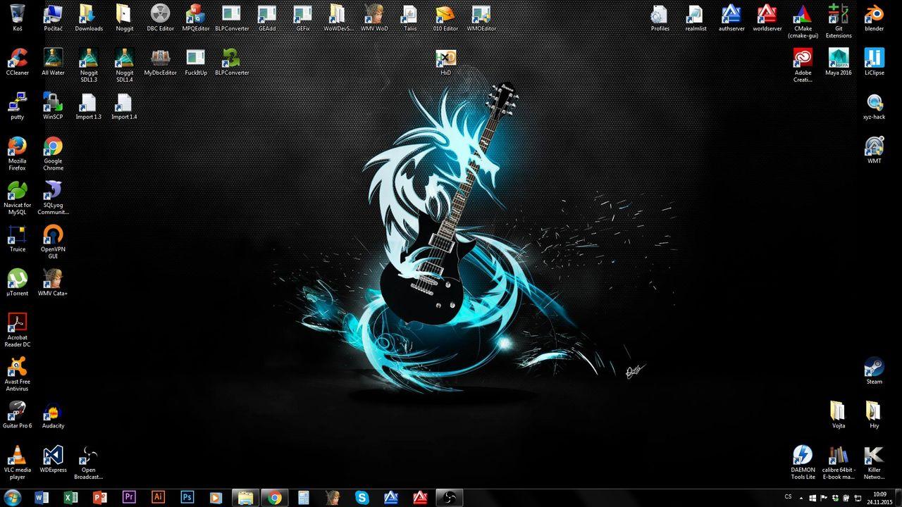 Pochlubte se plochou! Desktop