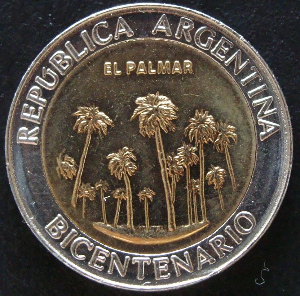 1 Peso. Argentina (2010) El Palmar ARG_1_Peso_El_Palmar_anv
