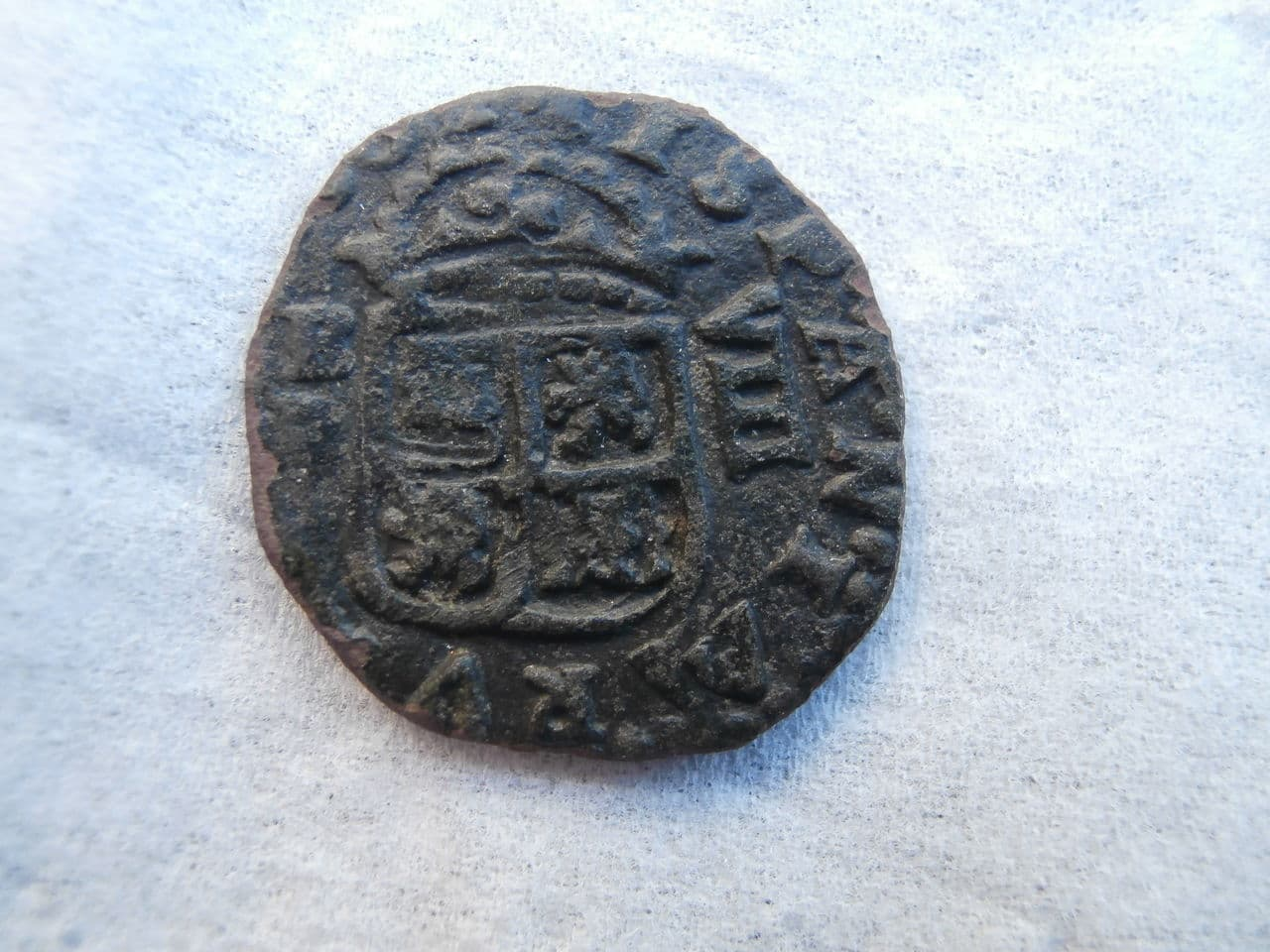 8 maravedís de 1661 Felipe IV, Burgos P3220306