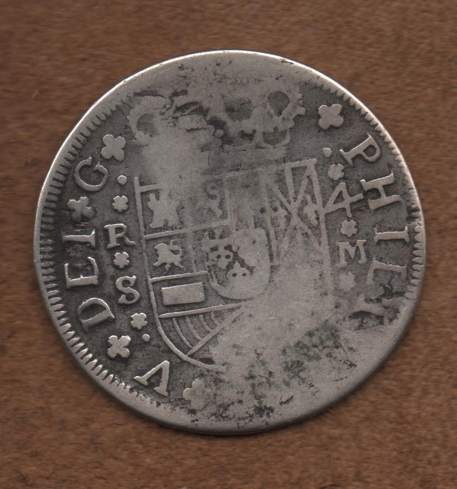 4 reales de Felipe V, Sevilla 1718 - M. Dedicado a Lanzarote Flor_n_002
