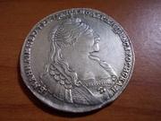 1 Rublo 1.735 Ana Ivanovna    Rusia DSCN0650