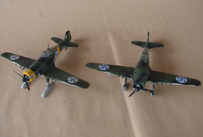 Finski Fokkeri D.XXI, Special Hobby, 1/72 DSC01477
