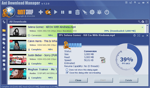 Ant Download Manager Pro v1.6.2 Build 43995 Multilingual 2a2de5ecce282daa19d4e84641239a8f