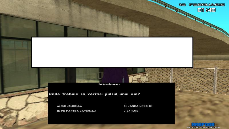 rRaptor RPG - Server SA:MP Untitled