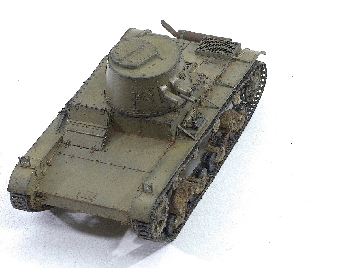 Vickers 6-Ton Light Tank Alt B Early Production. CAMs 1/35 Image