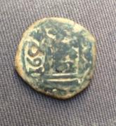 VIII maravedís de Felipe III o IV a martillo, resellados IMG_9528
