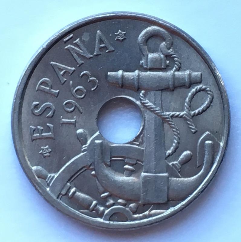 50 céntimos 1963 (*19-63). Estado Español. Variante dedit Estrella76 IMG_8894